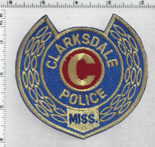 Clarksdale Police (Mississippi) 5th Issue Shoulder Patch
