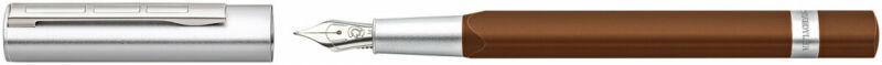 Staedtler TRX Fountain Pen - Brown Chrome Trim