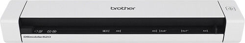 Brother Mobile Color Page Scanner White DS-620
