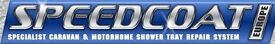 Caravan and motor home shower tray repair system (Speedcoat)
