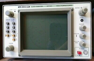 Leader Lvs-5850b Ntsc Vectorscope