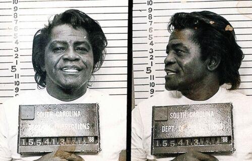 James Brown Arrest Mug Shot High quality Photo Reproduction