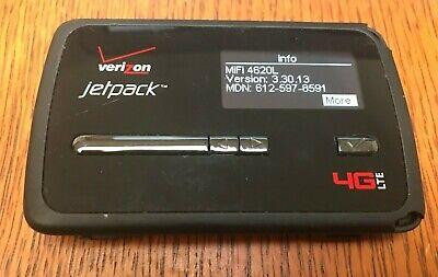 Verizon JetPack MiFi 4620L 4G LTE Mobile Hotspot - works great!