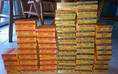 Kodak Super 8 Film Ektachrome K160 31 Boxes & Kodachrome K40 32 Boxes Exp&Refrig