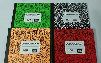 Marble Composition Note Books 100 sheets/200 pages Wide Rule: You - Composition Notebooks