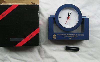 Ridgewood Presbyterian Church Queens NYC 150th Anniversary Desk Clock (Ridgewood Clock)