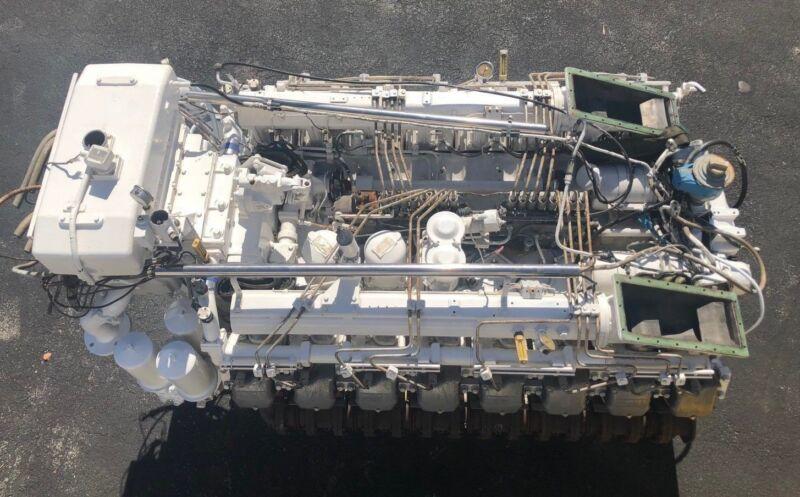 Deutz MWM BA16M816, Marine Diesel Engine, 1135HP | Shopping Bin - Search  eBay faster