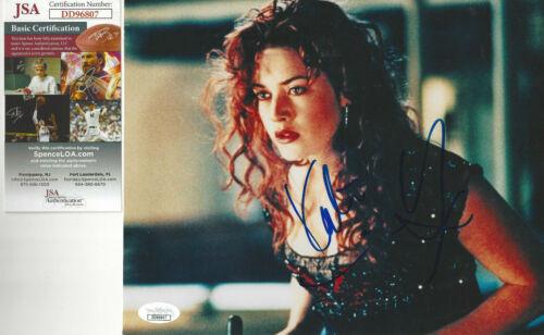 Beauitful Kate Winslet Titantic autographed 8x10 color  photo JSA Certified
