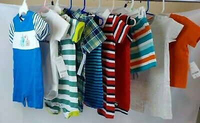 New NWT Baby Boys 12-18 months Summer Clothes Gymboree Onepiece Outfits