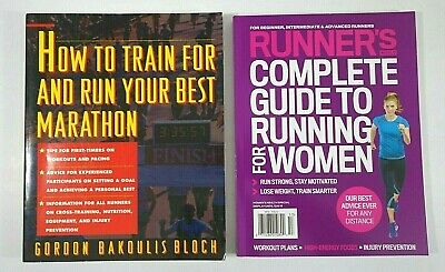 Set (2)  How to Train for Run BEST MARATHON Complete Guide to RUNNING for