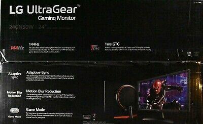 "LG ULTRAGEAR GAMING MONITOR 24GN50W-B 24"" Full HD Adaptive Sync 144Hz 1ms"