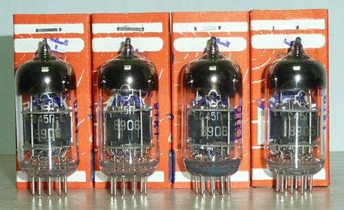 4 x 6S45P-E 6C45P 6C15P WE437  RARE REFLEKTOR PLATINUM MATCHED QUAD NOS NIB
