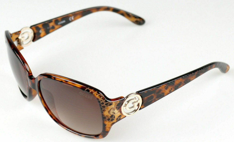 GUESS Damen Sonnenbrille GU7310/S TO-34 Gläser Braun mit Verlauf Gestell braun