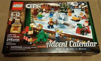 *damaged box* LEGO City Advent Calendar 60155 Building Kit (248 Piece) 24 Gift