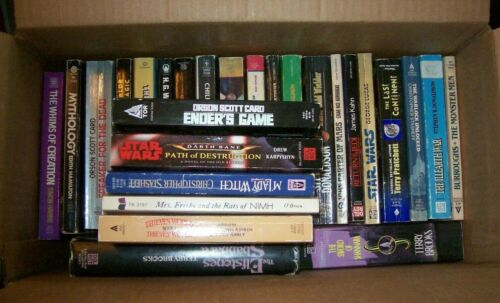 Lot of 27 Science Fiction & Fantasy paperbacks (list in description)