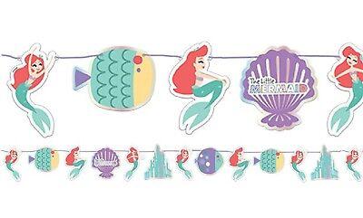 Meerjungfrau Geburtstagsparty Girlande Banner Dekoration (Ariel Geburtstag Party Dekorationen)