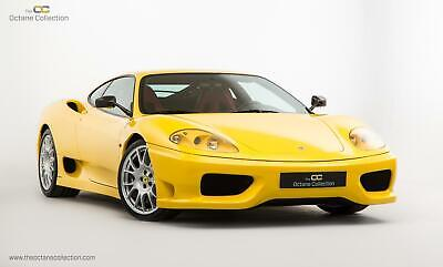 FERRARI 360 CHALLENGE STRADALE // GIALLO MODENA WITH RED LEATHER // FFSH