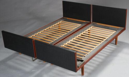 VINTAGE DANISH MID CENTURY HANS J. WEGNER TWIN BEDS 1960s