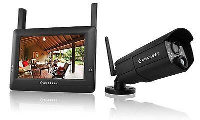 Amcrest WLD895 720P 4CH 7-Inch Touchscreen LCD Watch Video Surveillance System