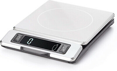 OXO 11214800 Good Grips 11 Pound Stainless Steel Food Scale
