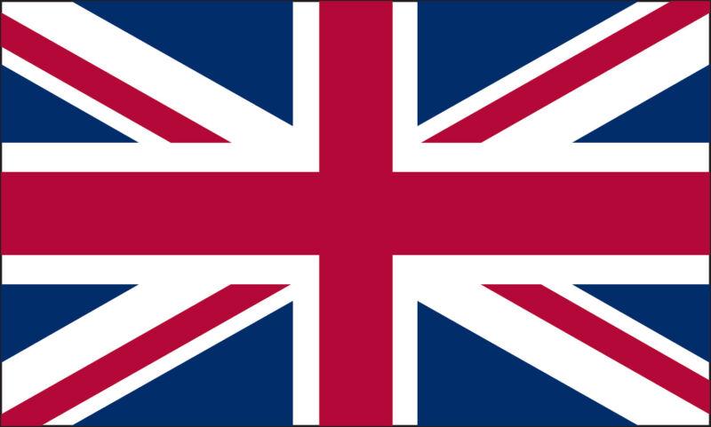 3x5 3 x 5 FT Strong England UK Britain Nylon Flag