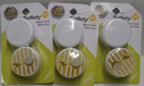 Safety 1st Blind Cord Wind-Ups 2 Pack - Lot of 3 - d1c