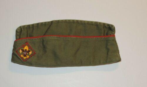 VINTAGE BOY SCOUTS OF AMERICA BSA GARRISON CAP, HAT 7-71/8 LARGE
