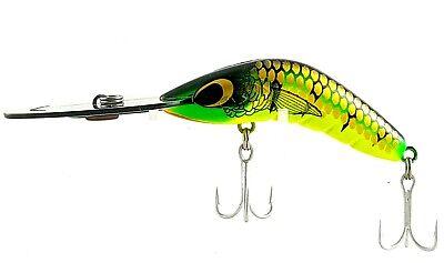 80mm UD 20g CAST OR TROLL DEEP DIVER FISHING LURE PREDATEK BOOMERANG T//FROG