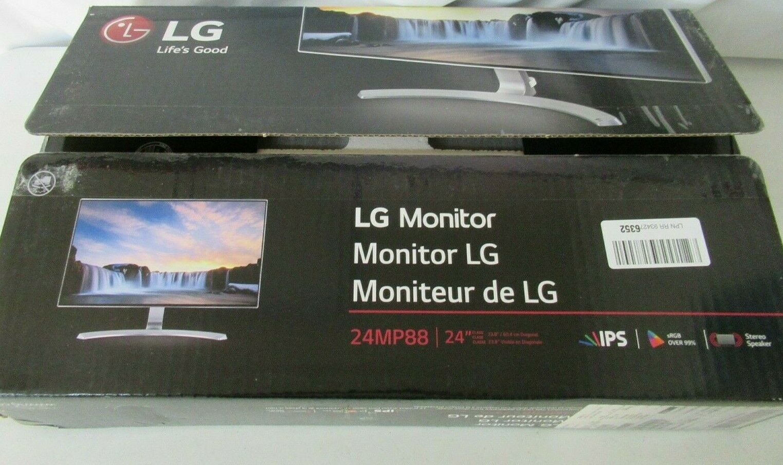 LG 24MP88HV-S 24 LED LCD Monitor - 16:9 - 5 ms - 1920 x 1080
