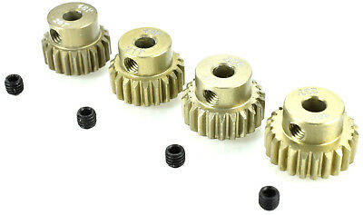 Apex Rc Products 48 Pitch 20T 21T 22T 23T Aluminum Pinion Gear Set  9751