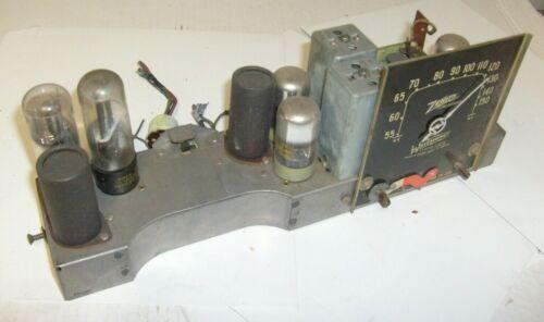 "1941 Vintage Zenith Radio  Radio Model 6G501M  Original "" Tube Chassis """