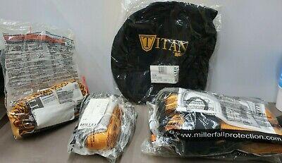Miller Titan Fall Protection Harness Kit Tck4507 Universal Sized Harness --b49