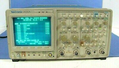 Tektronix 2430a 100mhz Digital Oscilloscope - Free Shipping