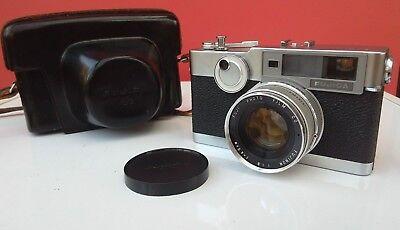 Fujica V2 Rare Fuji Vintage Rangefinder Camera  Fujinon 45mm F1.8 Lens - N. Mint
