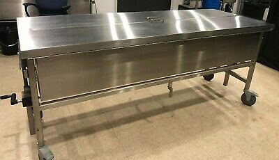 Pathology Lab Equipment Autopsy Morgue Cadaver Dissection Table