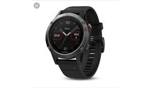 fēnix 5 Slate Gray with Black Band / 47mm run gps watch GARMIN