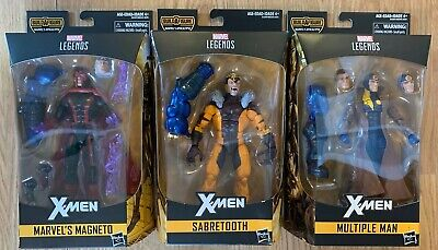 Marvel Legends Apocalypse Magneto Multiple Man & Sabertooth Lot of 3 NEW in Box!