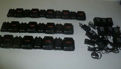 Thirteen Motorola Minitor V 45-48.9 Mhz Low Band Fire Ems Pagers W Chargers