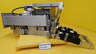 Hitachi M-511e Microwave Plasma Etching System Mapping Sensor Robot Used Working