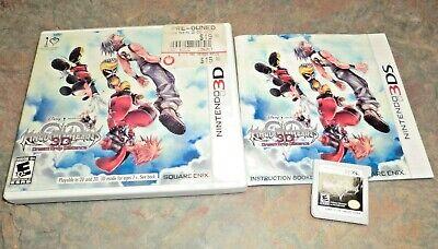 CIB Kingdom Hearts 3D: Dream Drop Distance (Nintendo 3DS, 2012) COMPLETE IN BOX comprar usado  Enviando para Brazil