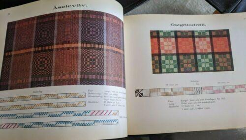 Praktisk Vav Bok  - Sigrid Palmgrens 1939 First Edition RARE Swedish Weaving
