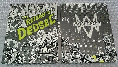 Used, Watch Dogs 2 - Collectors Edition Steelbook - G2 - Ps4 - Brand New - No Game for sale  Shipping to Nigeria