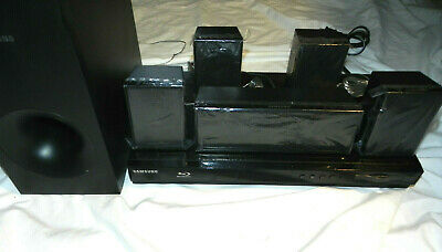Samsung HT-E3500 Blu-Ray Disc DVD Player Home Theater 5 Speakers & Sub FREE SHIP