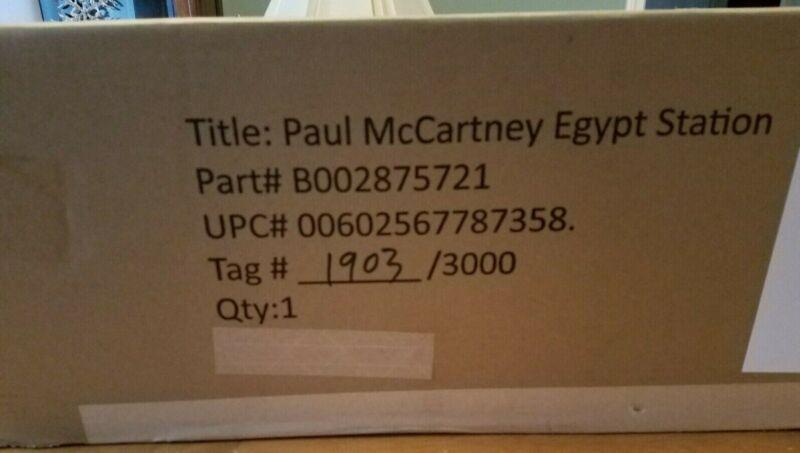 Paul McCartney - Egypt Station Traveller's Edition (Luxury Box Set) New Sealed