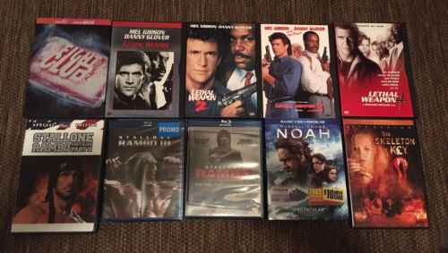 Action Movie DVD Lot  - $4.50