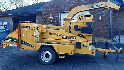 2016 Vermeer Bc1800xl Wood Chipper - T4f Cummins Engine - 19 Capacity - 644 Hrs