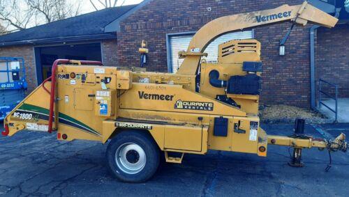 "2016 Vermeer BC1800XL Wood Chipper - T4F Cummins Engine - 19"" Capacity - 644 Hrs"