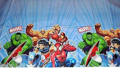 Incrediible Hulk Marvel 1-plastic Tablecover , Multi-color Party Supplies