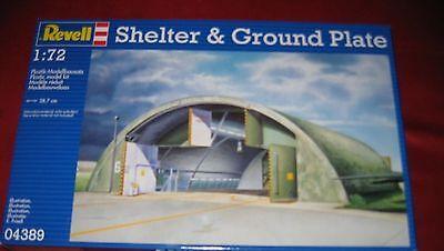 REVELL® 04389 1:72 SHELTER&GROUND PLATE NEU OVP