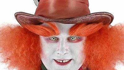 Alice In Wonderland Mad Hatter Costume Eyebrows Adult One Size (Costume Eyebrows)